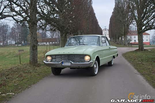 Fram/Sida av Ford Falcon 2-door Sedan 2.4 Manual, 87ps, 1960