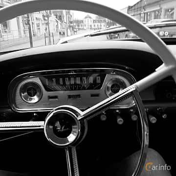 Interior of Ford Falcon 2-door Sedan 2.4 Manual, 87ps, 1960