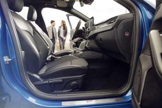 Interior of Ford Focus 2018