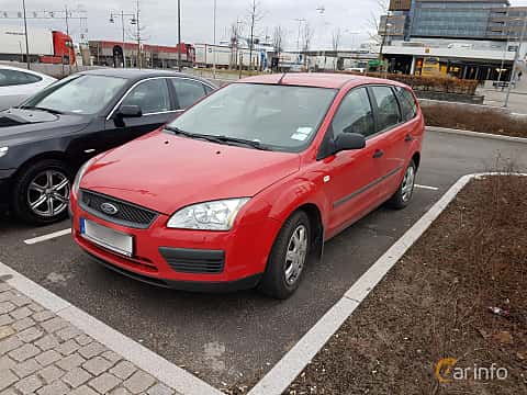 Fram/Sida av Ford Focus Combi 1.8 Duratec Flexifuel Manual, 125ps, 2007