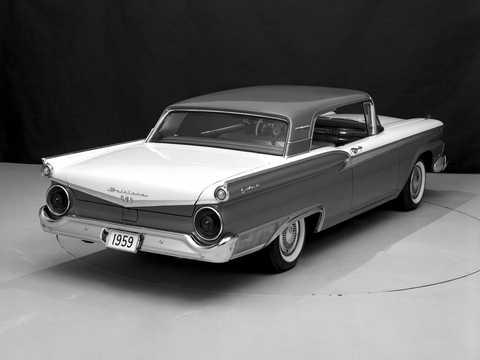 Back/Side of Ford Galaxie Club Victoria 1959