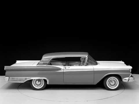 Side  of Ford Galaxie Club Victoria 1959