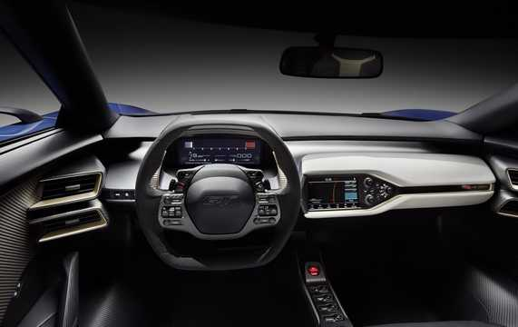 Interior of Ford GT Concept Concept, 2015