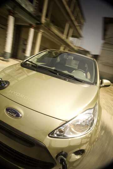 Close-up of Ford Ka 2009