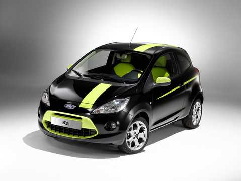 Front/Side  of Ford Ka 2009