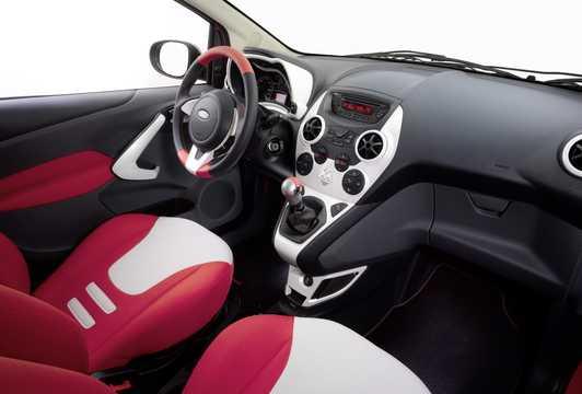 Interior of Ford Ka 2009