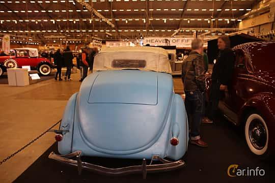 Back/Side of Ford Model 68 Roadster 3.6 V8 Manual, 86ps, 1936 at Bilsport Performance & Custom Motor Show 2017