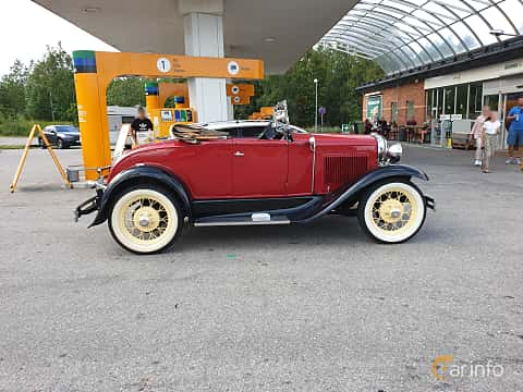 Sida av Ford Model A Roadster 3.3 Manual, 41ps, 1931