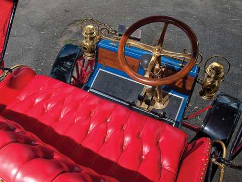 Interior of Ford Model A Runabout 1.65 Manual, 8hp, 1903
