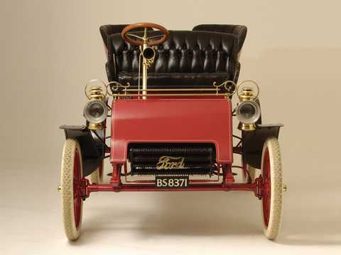 Front  of Ford Model A Tonneau 1.65 Manual, 8hp, 1903