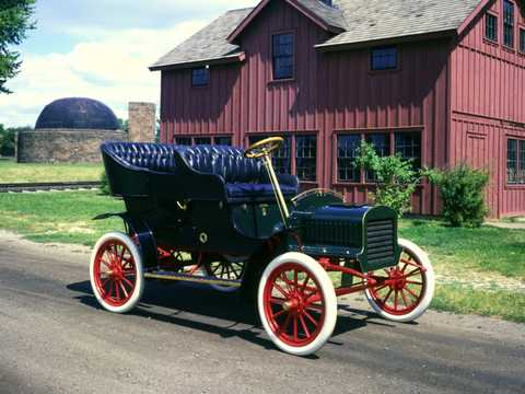 Front/Side  of Ford Model C Tonneau 2.0 Manual, 10hp, 1904