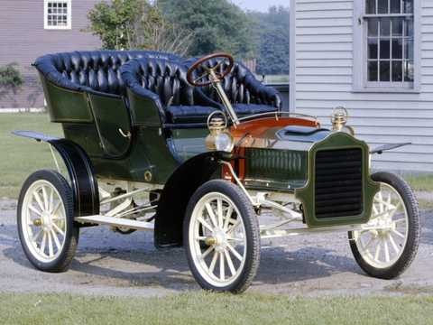 Front/Side  of Ford Model F 2.1 Manual, 16hp, 1905