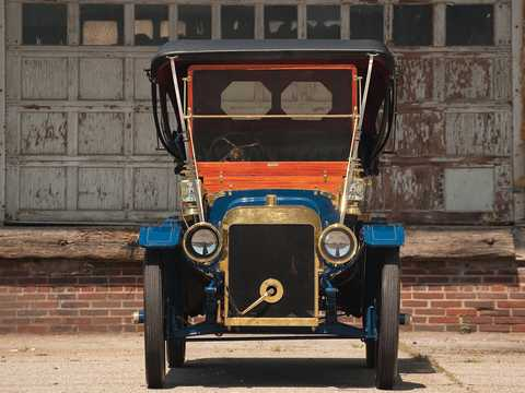 Front  of Ford Model K Touring 6.6 Manual, 41hp, 1907