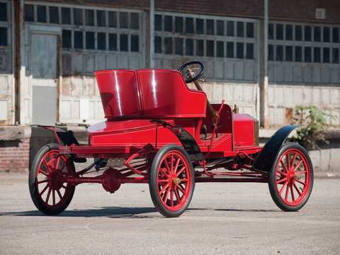 Back/Side of Ford Model N Runabout 2.4 Manual, 15hp, 1906