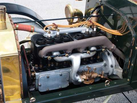 Engine compartment  of Ford Model N Runabout 2.4 Manual, 15hp, 1906