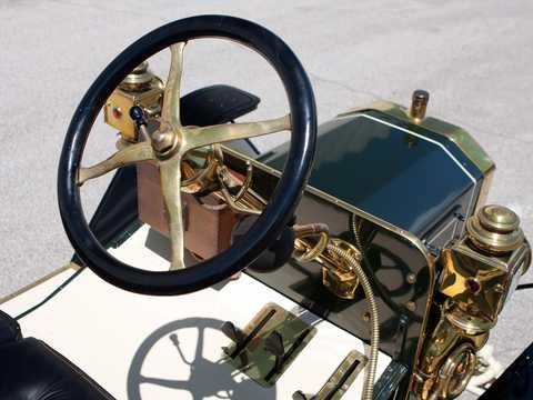 Interior of Ford Model N Runabout 2.4 Manual, 15hp, 1906