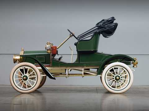 Side  of Ford Model R 2.4 Manual, 15hp, 1907