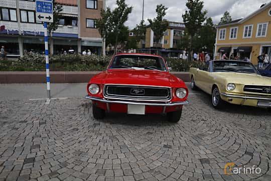 Front  of Ford Mustang Hardtop 3.3 Manual, 117ps, 1968 at Riksettanrallyt 2017