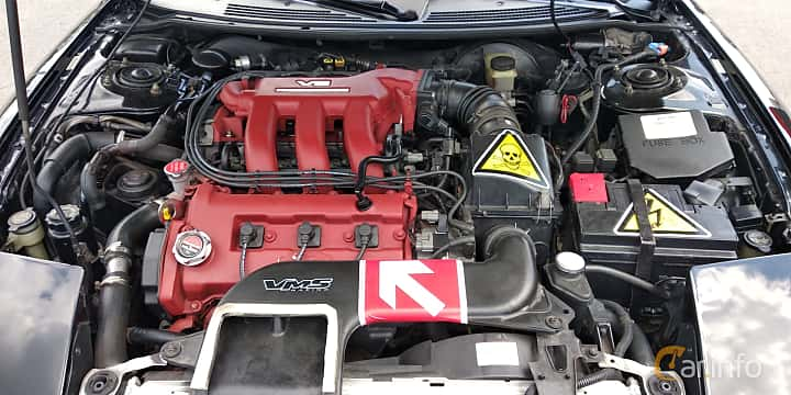 Engine compartment  of Ford Probe 2.5 V6 Manual, 163ps, 1993 at Car gathering JDM  2019