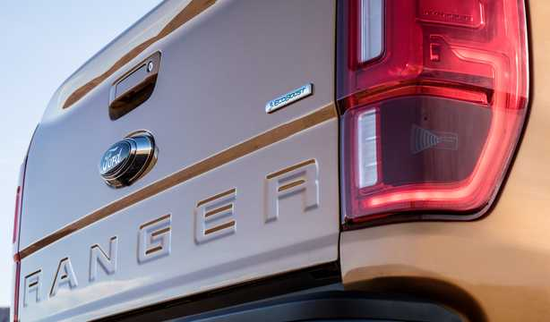 Close-up of Ford Ranger SuperCrew 2.3 EcoBoost 4x4 Automatic, 274hp, 2019