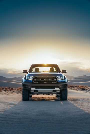 Front  of Ford Ranger Raptor 2.0 EcoBlue 4x4 Automatic, 213hp, 2019
