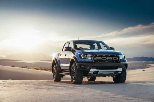 Front/Side  of Ford Ranger Raptor 2.0 EcoBlue 4x4 Automatic, 213hp, 2019