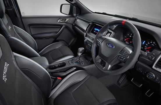Interior of Ford Ranger Raptor 2.0 EcoBlue 4x4 Automatic, 213hp, 2019