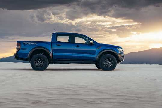 Side  of Ford Ranger Raptor 2.0 EcoBlue 4x4 Automatic, 213hp, 2019