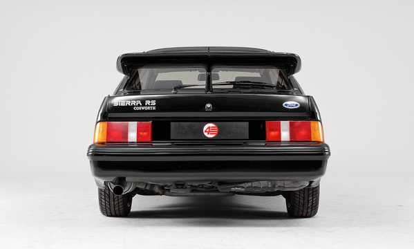 Back of Ford Sierra RS Cosworth 3-door 2.0 Manual, 204hp, 1986