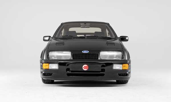 Front  of Ford Sierra RS Cosworth 3-door 2.0 Manual, 204hp, 1986