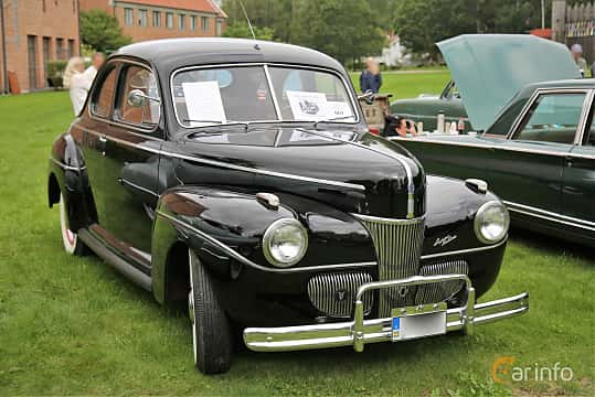 Ford Super Deluxe Coupé 3 6 V8 Manual, 91hp, 1941