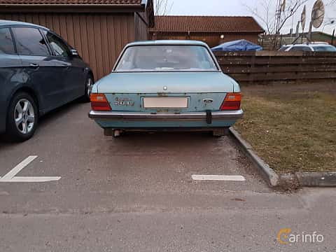 Back of Ford Taunus 2-door Limousine 2.0 Manual, 98ps, 1979