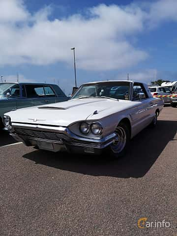 Front/Side  of Ford Thunderbird Hardtop 6.4 V8 Automatic, 305ps, 1965