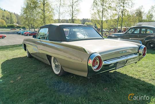 Back/Side of Ford Thunderbird Convertible 6.4 V8 Automatic, 305ps, 1963 at Lissma Classic Car 2019 vecka 20