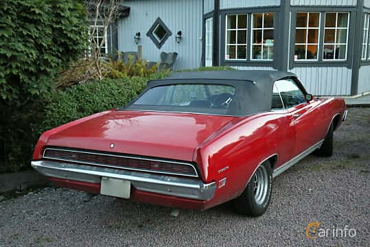 Back/Side of Ford Torino GT Convertible 5.8 V8 Manual, 289ps, 1971