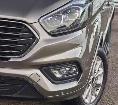 Close-up of Ford Tourneo Custom 2018