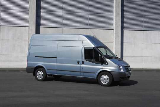 Front/Side  of Ford Transit Van 2012
