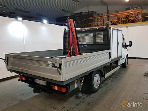 Back/Side of Ford Transit Chassis Cab 2.2 TDCi Manual, 140ps, 2013