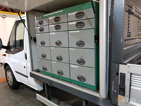 Close-up of Ford Transit Chassis Cab 2.2 TDCi Manual, 140ps, 2013