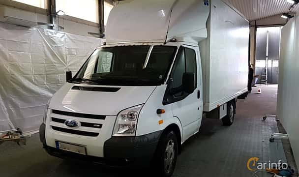 Front/Side of Ford Transit Chassis Cab 2.4 TDCi Manual, 140ps, 2006