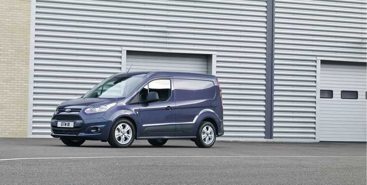 Front/Side  of Ford Transit Connect SWB 2013