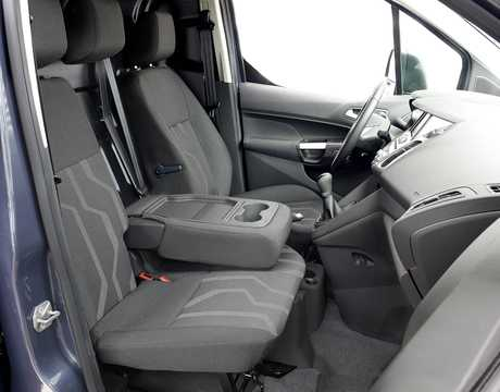 Interior of Ford Transit Connect SWB 2013