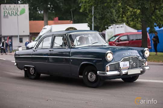 Ford Zephyr 2 6 Manuell 90hk 1959