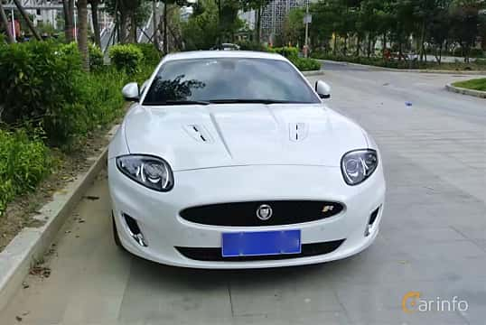 Front of Jaguar XKR 5.0 V8 Automatic, 510ps, 2012