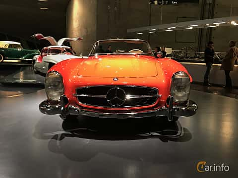 Fram av Mercedes-Benz 300 SL Roadster  Manual, 225ps, 1962