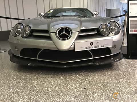 Fram av Mercedes-Benz SLR 722 S Roadster  Automatic, 650ps, 2009
