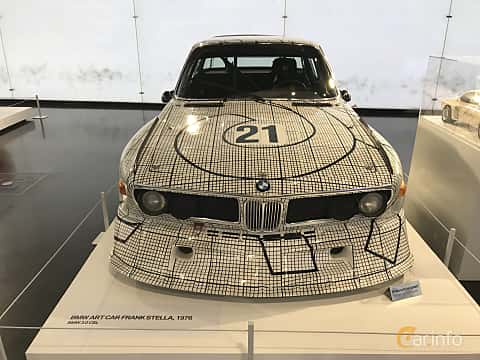 Front of BMW 3.0 CSL Group 5 Manual, 487ps, 1976