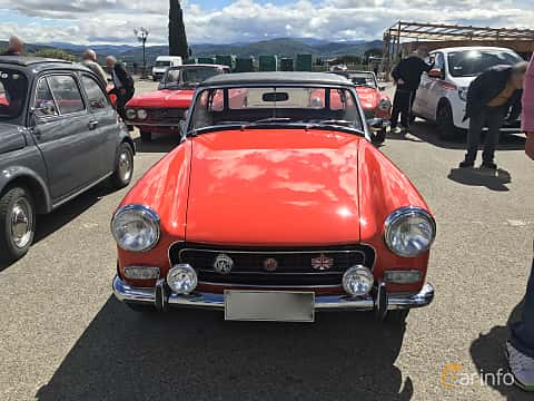Front  of MG Midget 1.3 Manual, 65ps, 1972