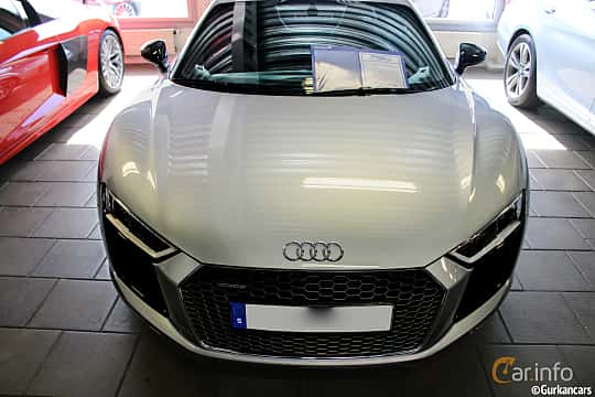 Front of Audi R8 V10 plus 5.2 V10 FSI quattro S Tronic, 610ps, 2016