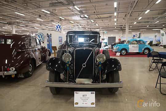 Front  of Volvo TR704 3.7 Manual, 86ps, 1937 at Bilsport Performance & Custom Motor Show 2018